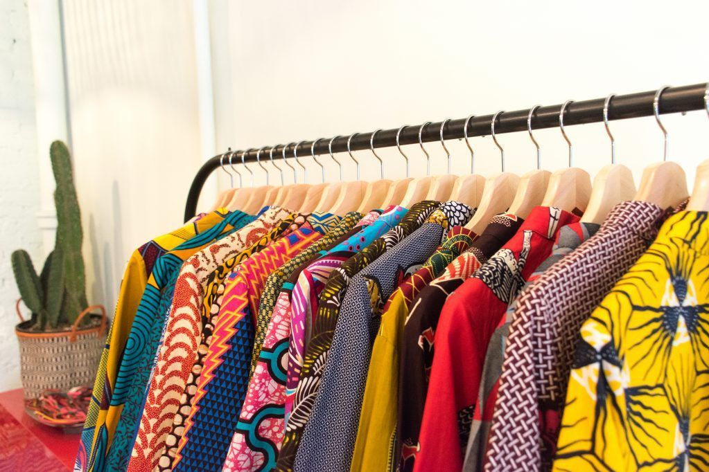 Zuri dresses are sustainably manufactured, flattering to all sizes and avaliable for rental at Armoire! These bold patterned dresses are a game changer!