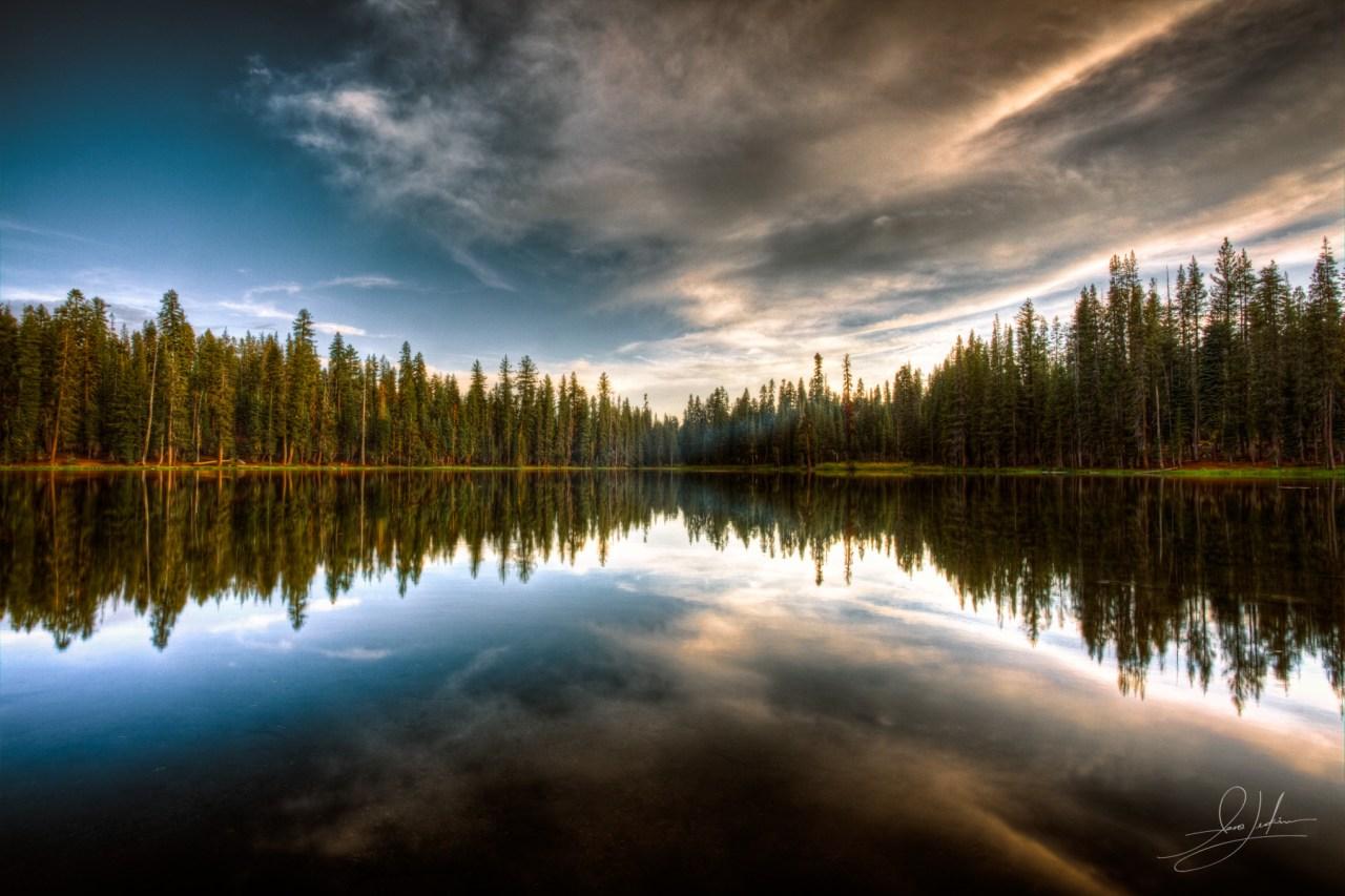 Lassen Volcanic National Park Lake