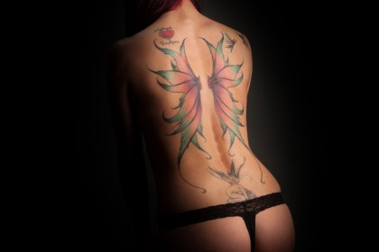 Studio Shoot Fairy Wings