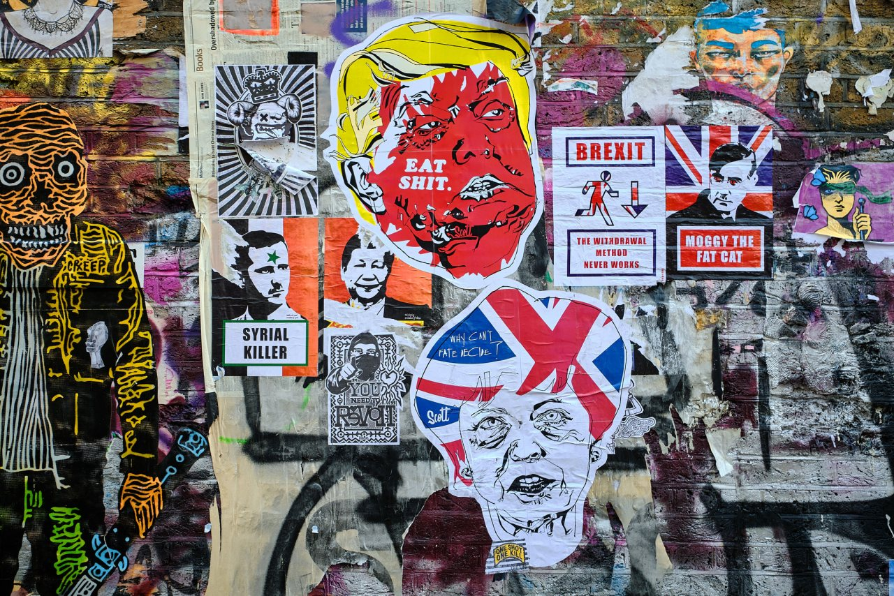 Wall Of Shame - Shoreditch, London