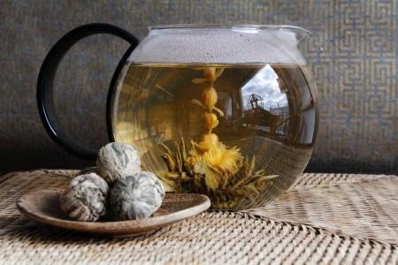 Arogya Goddess of Tiny Blossoms Blooming Tea