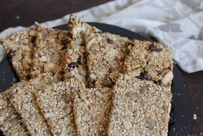 Healthy Snack Nowegian Seed Cracker Recipe Knekkebrød