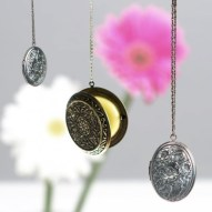Solid Perfume Lockets
