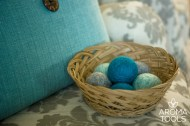 DIY Yarn Dryer Balls