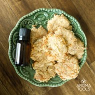 Lemon Coconut Crisps