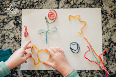 Flexible Beeswax Yarn Art
