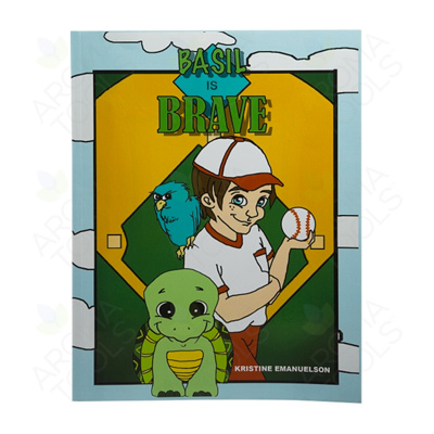 """""""Basil Is Brave"""" Activity Book for Kids"""