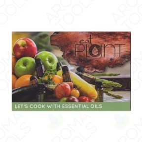 """Let's Cook with Essential Oils"" Postcard Invitations"