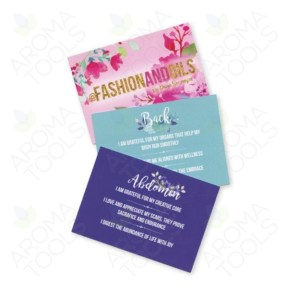@fashionandoils Affirmation/Recipe Cards