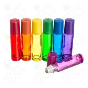 Chakra Colored Roll-on Bottles