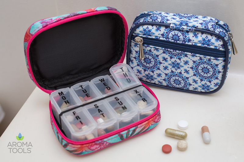 7-Day Pill Cases and Capsule Blends
