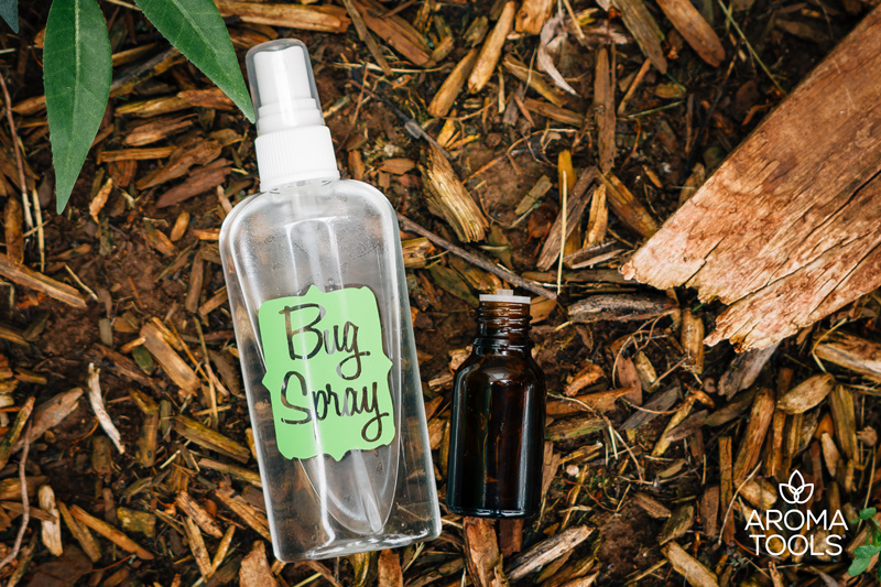 All-Natural Essential Oil Bug Spray