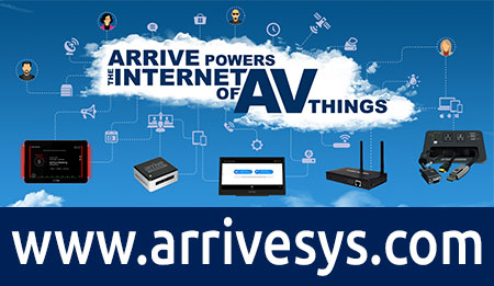 Arrive Systems website