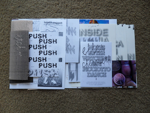 itch journal #15, designed by Tanya Rubbak