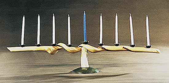 Menorah by David N. Ebner