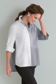 Patchwork Shirt by Planet