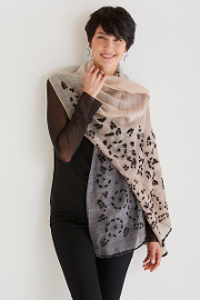 Knot Flower Scarf by Maliparmi available at Artful Home