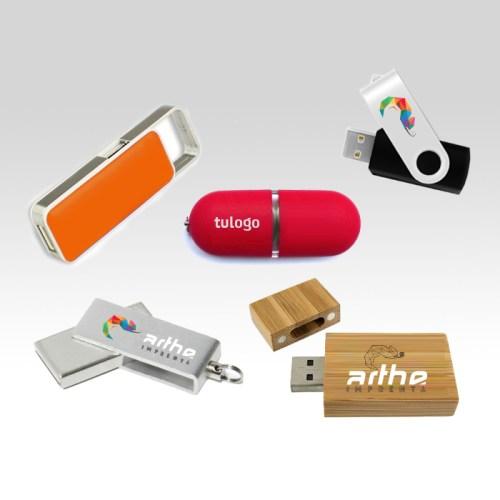 USBs personalizados arthe imprenta