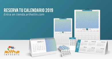 calendarios 2019 pedidos imprenta digital
