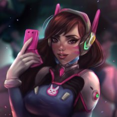D.Va - Overwatch by joaocoful
