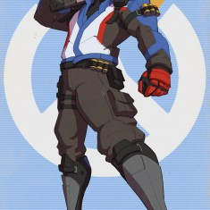 Soldier 76 by izzual