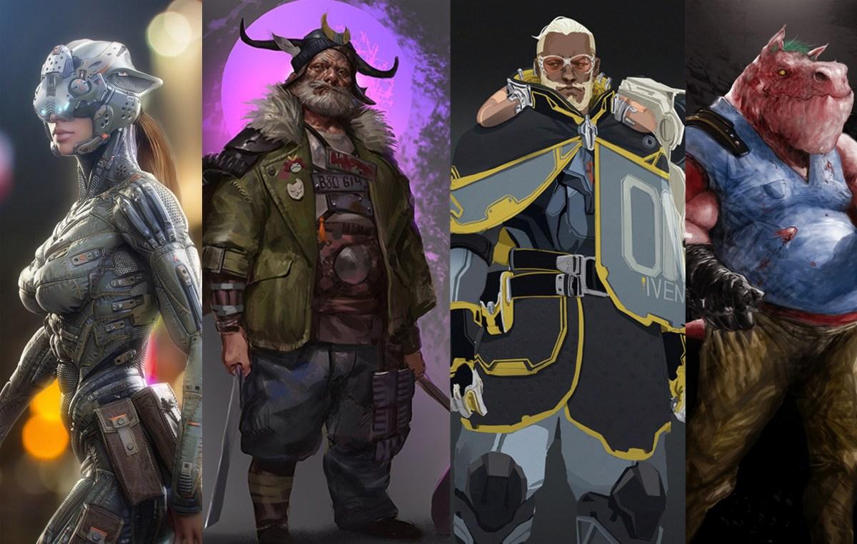 Artlord Tales - Cyberpunk Character Showcase