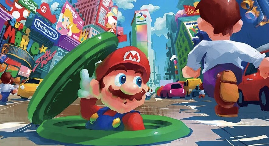 "The Art of ""Super Mario Odyssey"" - Inspiring Generations"