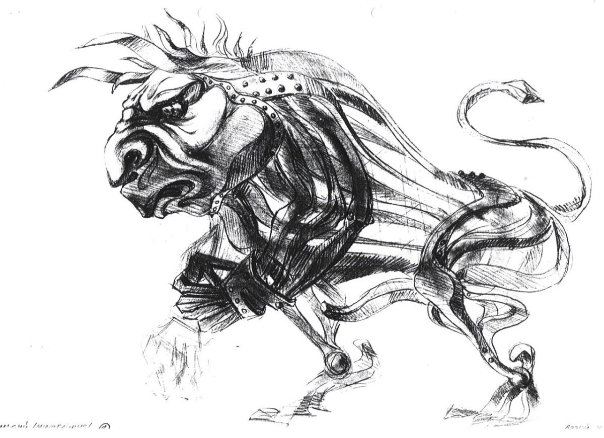 The 3D Bullman
