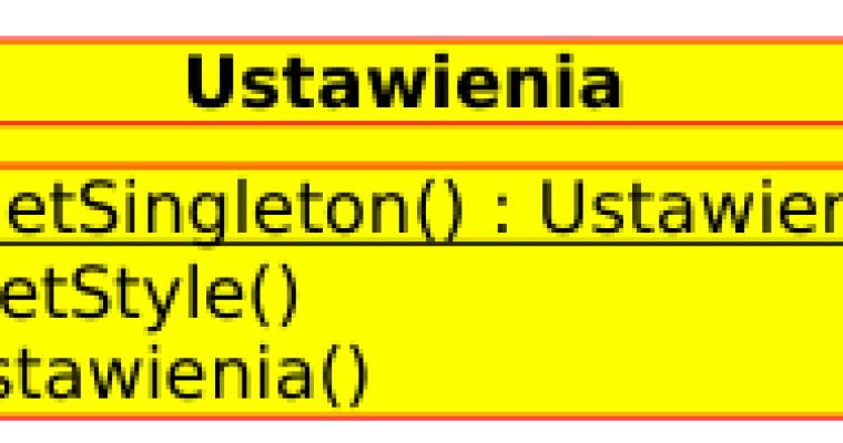 Wzorzec projektowy Singleton C++ / Qt