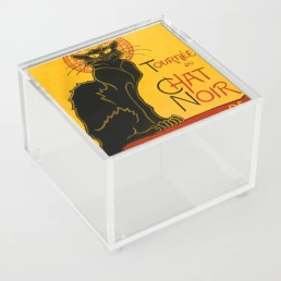 Le Chat Noir Acrylic Box