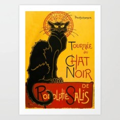 Le Chat Noir Art Print