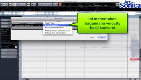Mengubah Audio ke MIDI pada Cubase