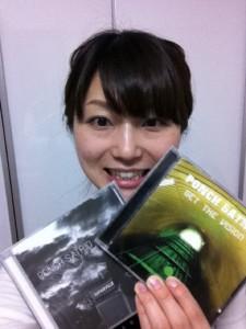 Tomomi dari Jepang, salah satu fans yang membeli album2 karya Ponch Satrio