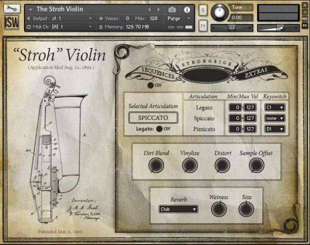 Stroh-Violin-Effects