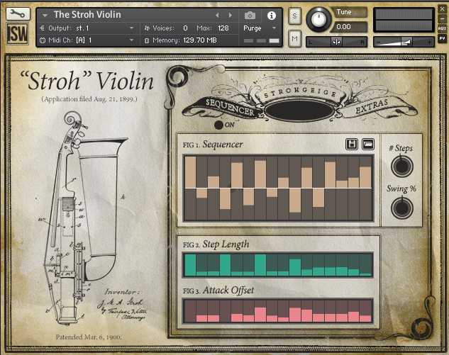 Stroh-Violin-Sequencer