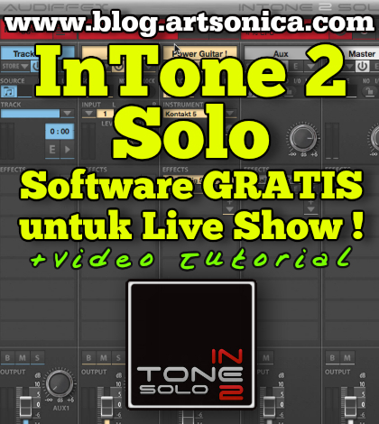 InTone 2 Solo, Software Sequencer Gratis untuk Live Show