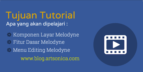 Daftar Isi Tutorial Melodyne Part 1