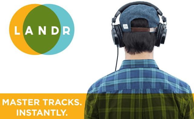 mastering online LANDR