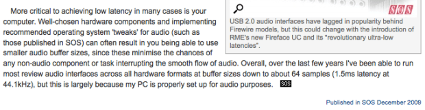 Audio Interface USB v3 VS v2 VS v1