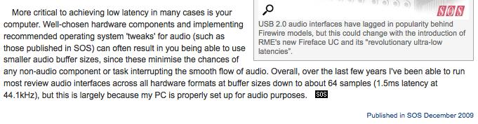 Audio Interface USB v3 VS v2 VS v1