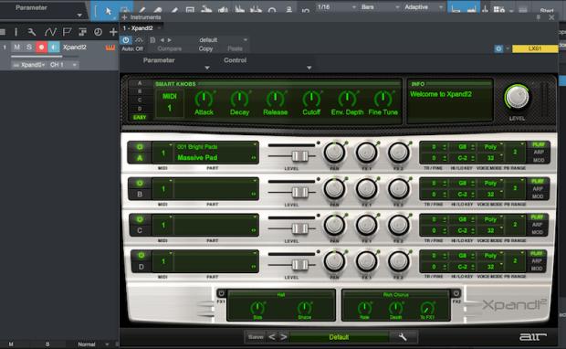XPand 2 pada Studio One