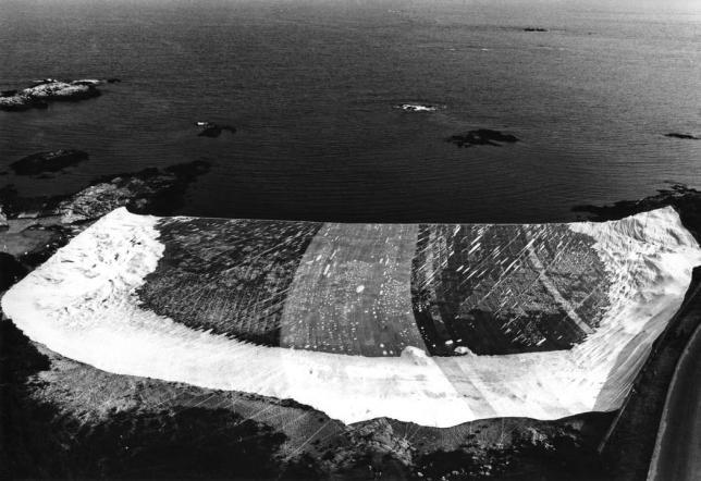 Ocean Front, Christo et Jeanne-Claude