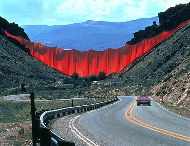 Valley Curtain, Christo and Jeanne-Claude