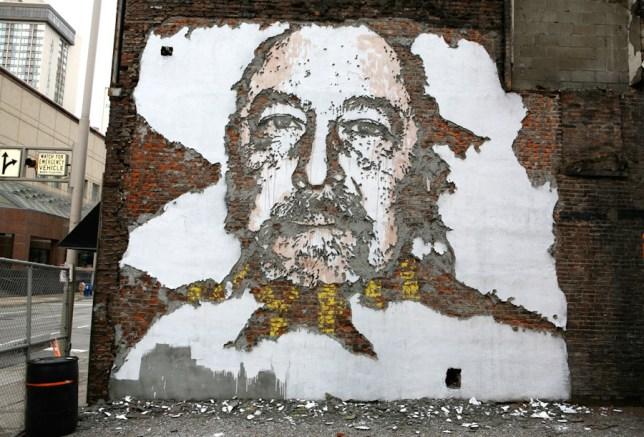 Vhils, Kentucky, Street artist