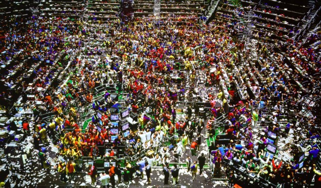 Andreas Gursky, Chicago Board of Trade, 1999