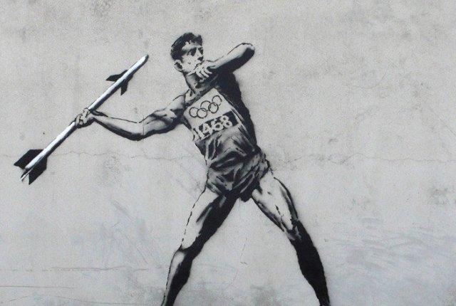 Banksy - Hackney Welcomes the Olympics (2012)