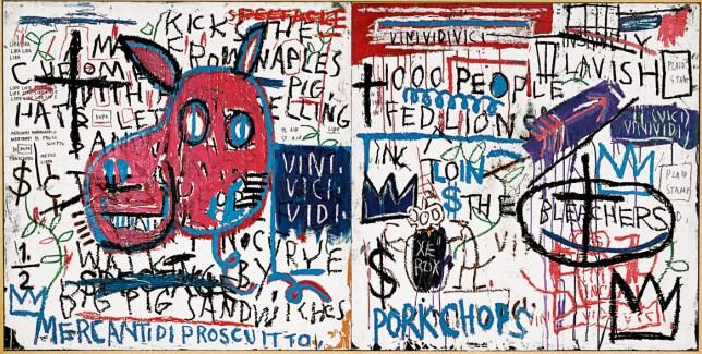 Jean-Michel Basquiat, L'Homme de Naples
