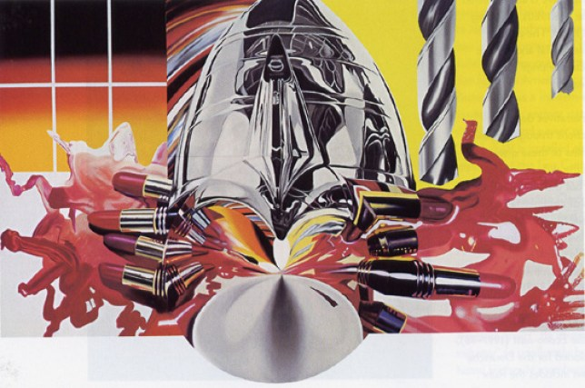 The Swimmer in the Econo-Mist, James Rosenquist