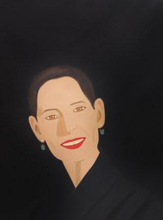 Alex Katz, Ursula souriante 2