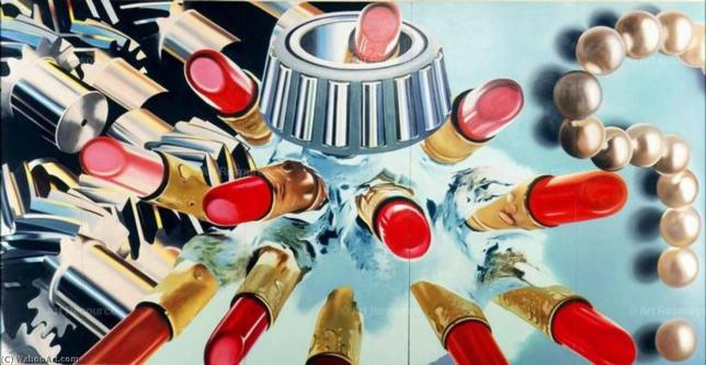 James Rosenquist, Gears